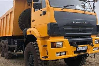 Tipper Trucks KAMAZ 65222-63 (9m3) 6x6 TIPPER 2018