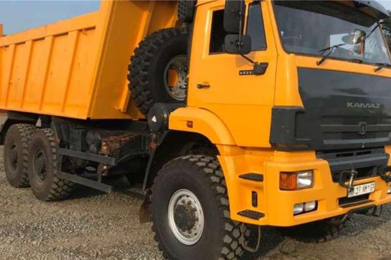 Tipper trucks KAMAZ 65222 63 (9m3) 6x6 TIPPER 2018