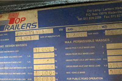 Top Trailer 2002 Top Trailer Volume Max Tautliner Trailers