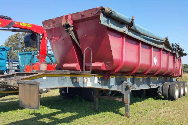 Top Trailer Trailers End tipping Sliding bin end tipper 2007