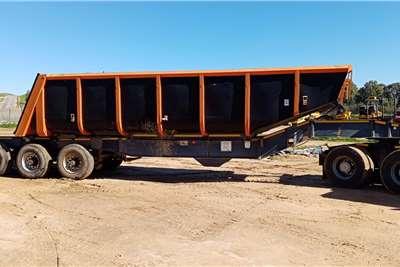 顶部拖车端部倾卸顶部拖车滑块倾卸式拖车