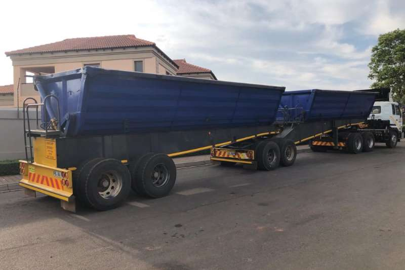 Top Trailer Trailers Interlink 2009 Top Trailer 45 Cubic meter side tipping inter 2009