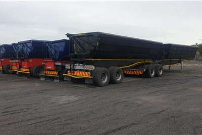 Top Trailer INTERLINK SIDE TIPPER Trailers