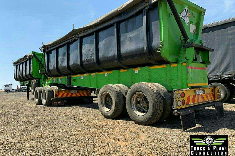 Top Trailer Trailers Side tipper 2008 Top Trailer Side Tipper 45m3 2008