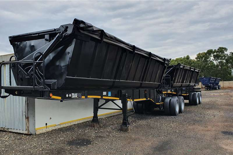 Top Trailer Trailers Side tipper 40cub 2014