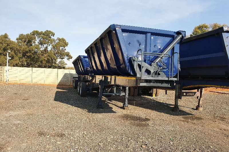 Top Trailer Trailers Side tipper 40M 2007