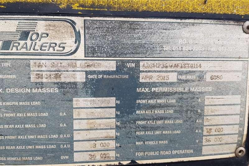 Top Trailer Side tipper 40m3 Interlink Sidetipper Trailers