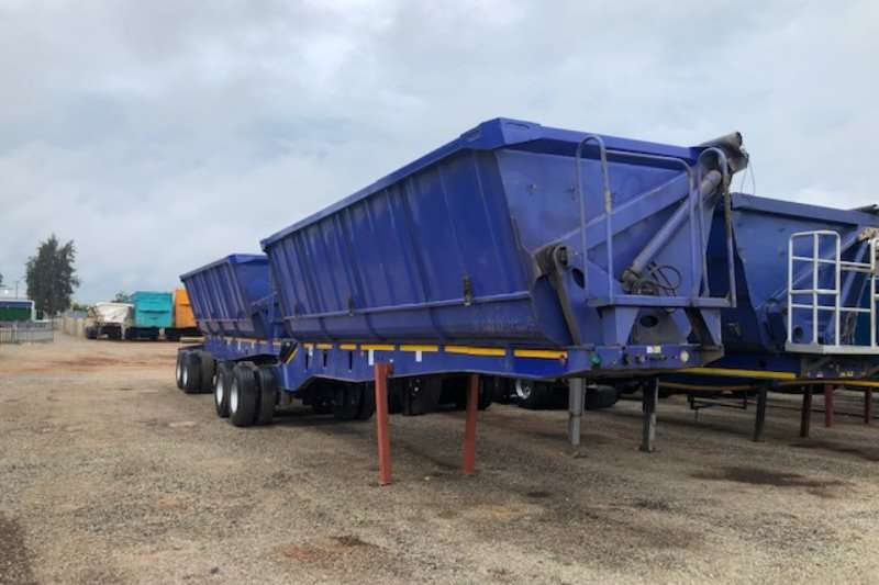 Top Trailer Trailers Side tipper 45m³ Interlink Side Tipper Trailer 2016