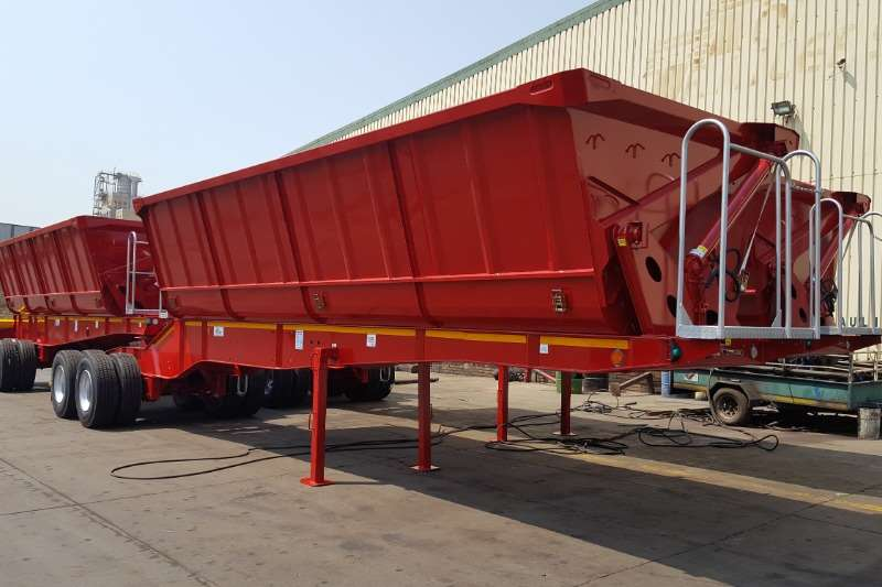 Top Trailer Trailers Side tipper NEW Top Trailers 40 & 45 cube Sidetippers 2019