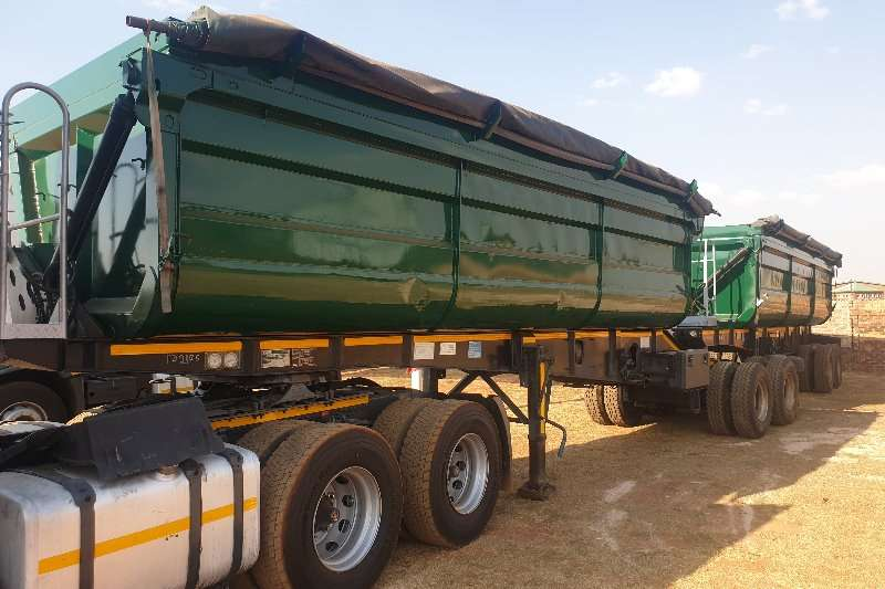 Top Trailer Trailers Side tipper Side Tipper Link Fully Refurbished with New Tyres 2012