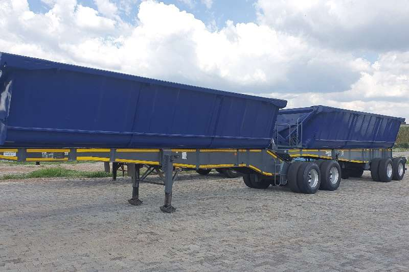 Top Trailer Trailers Side tipper Top Trailer side tipper 40 cube 2015