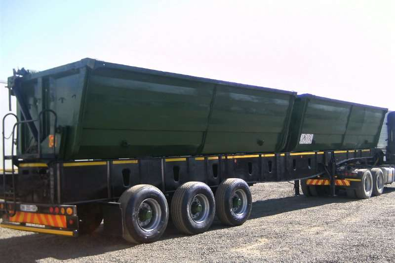 Top Trailer Trailers Side tipper TOP TRAILER TWINBIN SIDE TIPPER TRAILER 2010