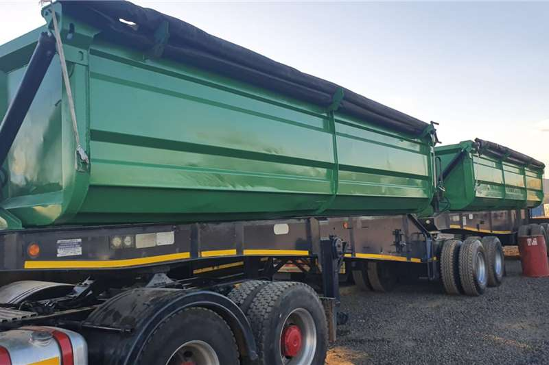 Top Trailer Side tipper VARIOUS TOP TRAILER SIDE TIPPERS Trailers