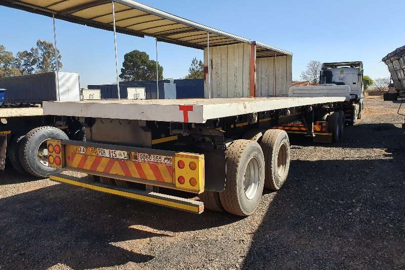 Top Trailer Trailers Superlink container locks + pole pockets 2003