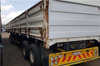 Top Trailer Superlink Dropside, Grain Doors Trailers