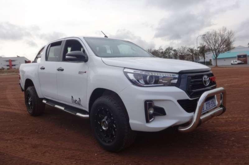 2018 Toyota Hilux 2 8 GD6 D/C DAKAR Series LDVs & panel vans