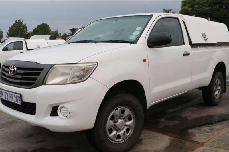 Toyota LDVs & panel vans Hilux D 4D Service Bakkie 2011