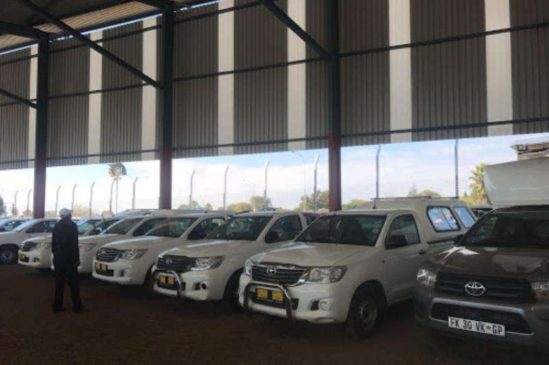 Toyota LDVs & panel vans HILUX RAIDER 2008