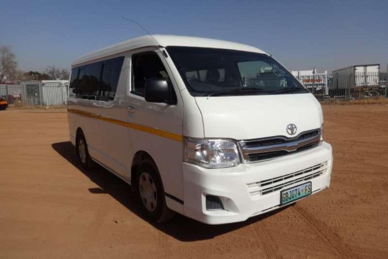 Toyota LDVs & Panel Vans Quantum GL 10 Seater 2011