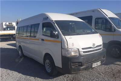 2008 Toyota Quantum VVT-i 14 Seater LDVs & Panel Vans Trucks for