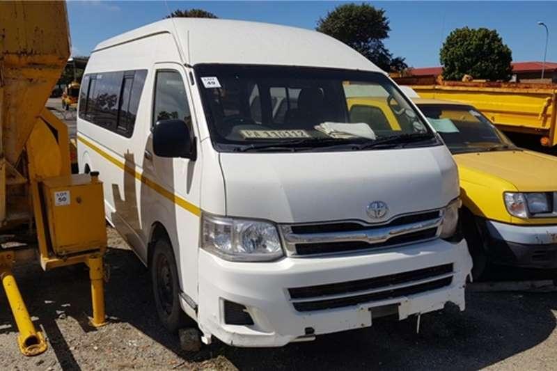 Toyota LDVs & panel vans Toyota Bus 2012