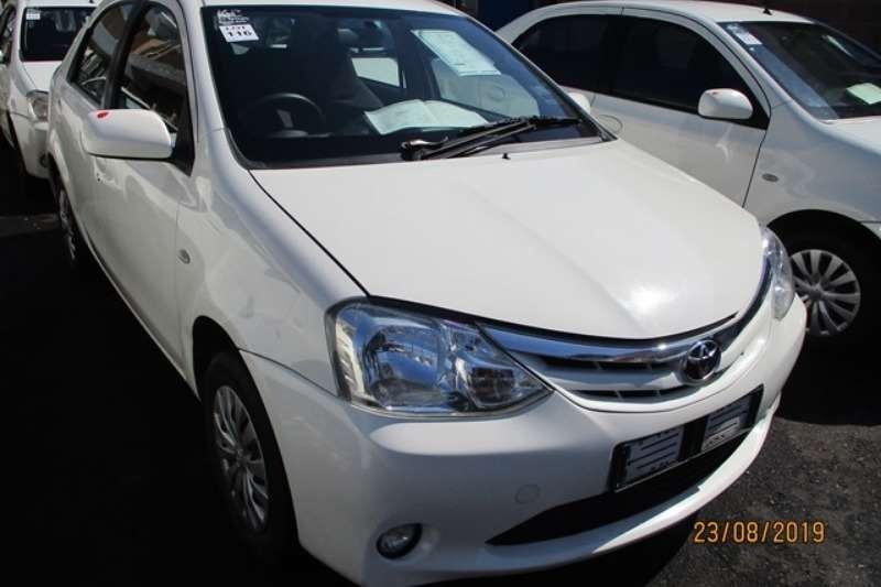 Toyota LDVs & panel vans Toyota Etios 1.5 XS Car 2012
