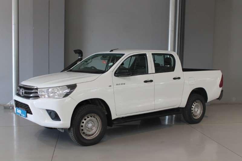 Toyota LDVs & panel vans Toyota Hilux 2.4 GD 6 SRX D/C 4X4 2016
