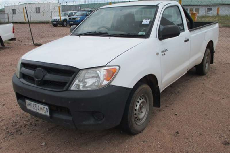 Toyota LDVs & panel vans Toyota Hilux, 2.5, 4x2, Single Cab Bakkie / LDV