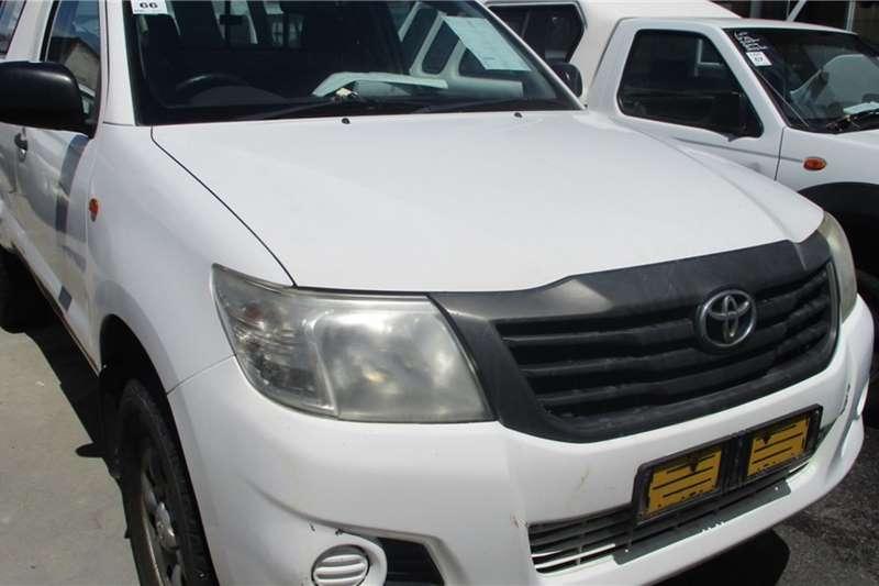 Toyota LDVs & panel vans Toyota Hilux 2.5 Single Cab 4x4 Bakkie 2012