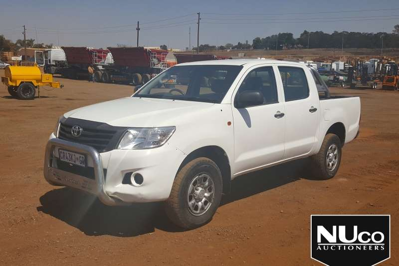 Toyota LDVs & panel vans TOYOTA HILUX RAIDER DOUBLE CAB LDV 2013