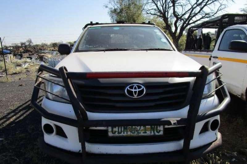 Toyota LDVs & panel vans Toyota Hilux SRX, 4 x 4 Bakkie 2011