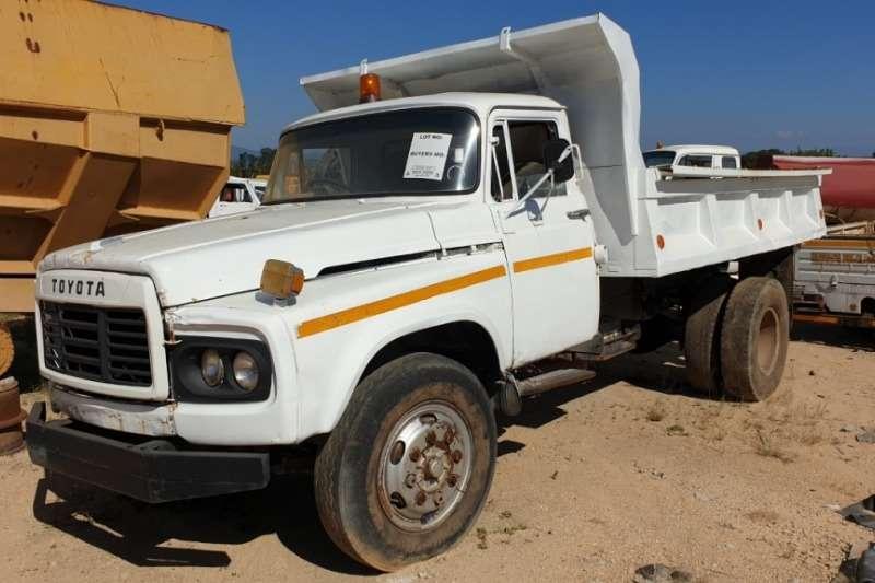 Toyota Truck Tipper 4x2 4m3 Tipper