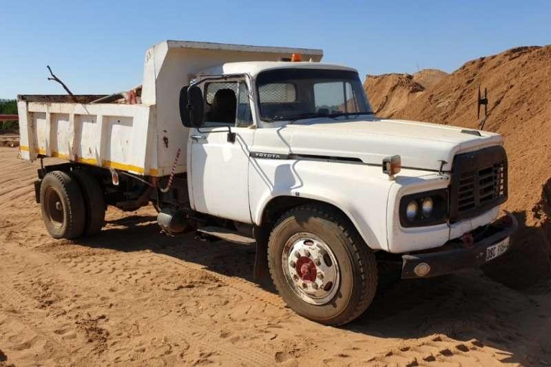 Toyota Truck Tipper 4x2 6m3 Tipper