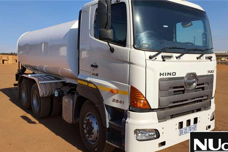 Toyota Truck Toyota Hino 700 2841 Water Tanker 2015
