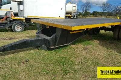 4m Single Axle Flat Deck Heavy Duty Trailer Trailers