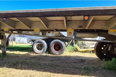 9.2 m Flat Deck Double Axle Trailer Trailers
