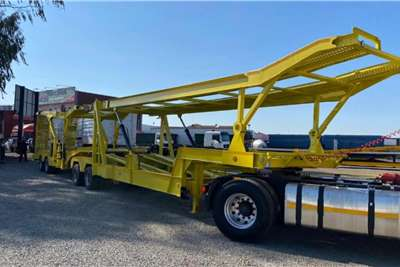 Car carrier TrailTank interlink trailer 8 x Car Carrier Trailers