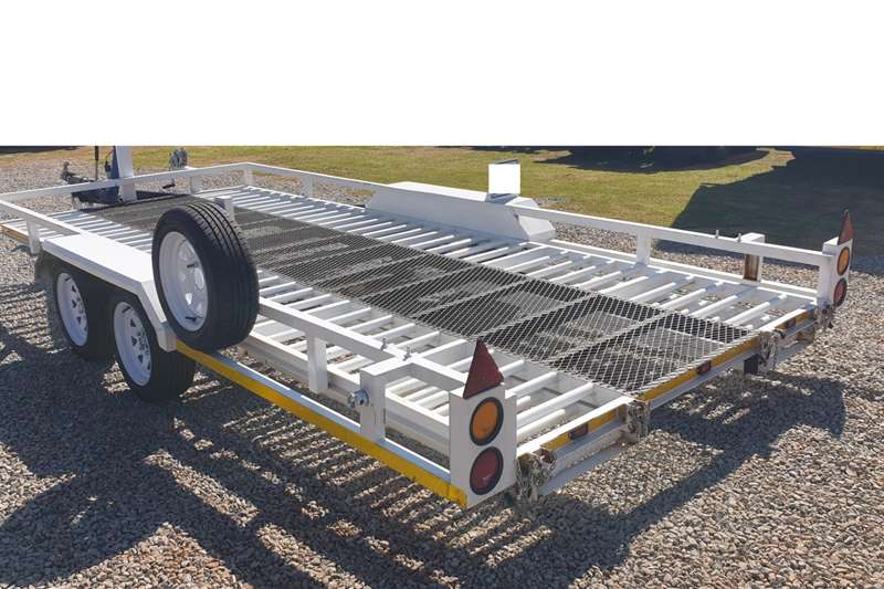 Trailers Car trailer BON VOYAGE CAR TRAILER WITH BREAK NECK AND RAMPS 2018