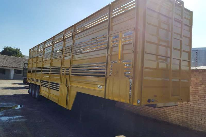 Trailers Cattle body Tri Axle Cattle Trailer 2014