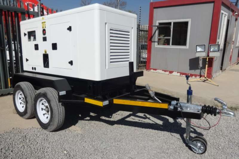 Trailers D/A General Purpose Trailer With 40KVA Generator 2019