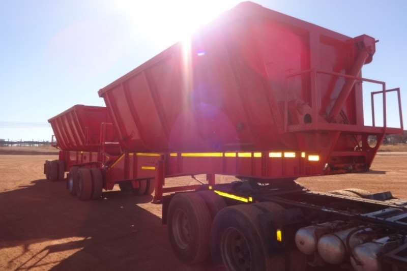 Trailers D/A Side Tipper Trailer