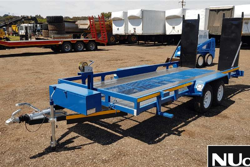 DOUBLE AXLE BREAKNECK TRAILER WITH RAMPS Trailers