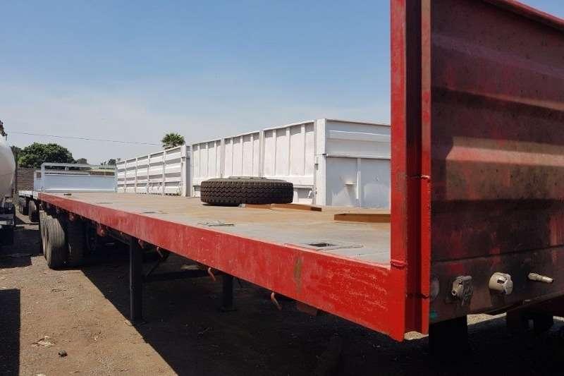 Trailers Flat deck Flat Deck Tri axle Trailer