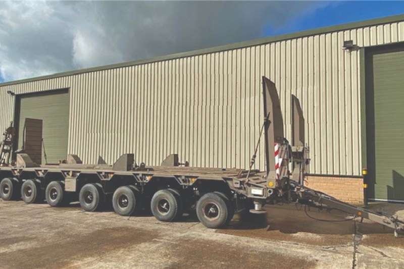Goldhofer 8 Axle Low Loader Trailers Trailers