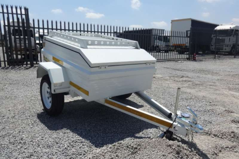 Trailers S/A Luggage Trailer With Roof Rack 2019