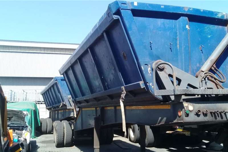 Trailers Side Tipper 2007