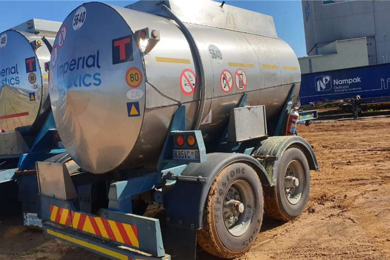 TANK CHEM DOUBLE AXLE PUP TANKER (LOC: DBN) Trailers