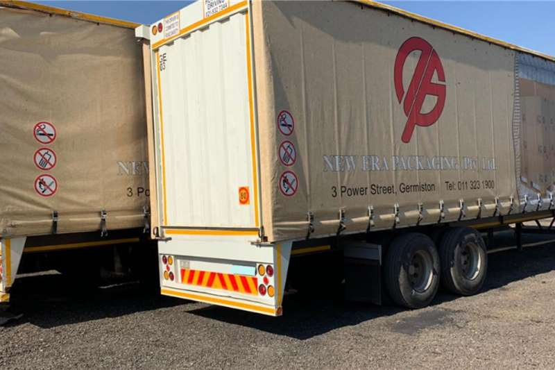 Trailers Tautliner 5 x Hendred Double Axle Tautliners for sale