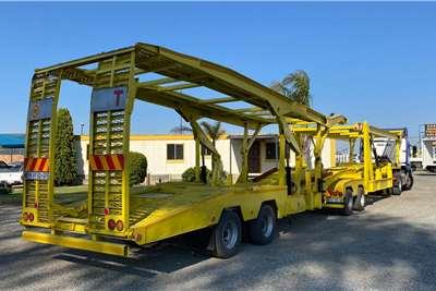 Trailmax Car trailer TRAILMAX CAR CARRIER LINK TRAILER Trailers