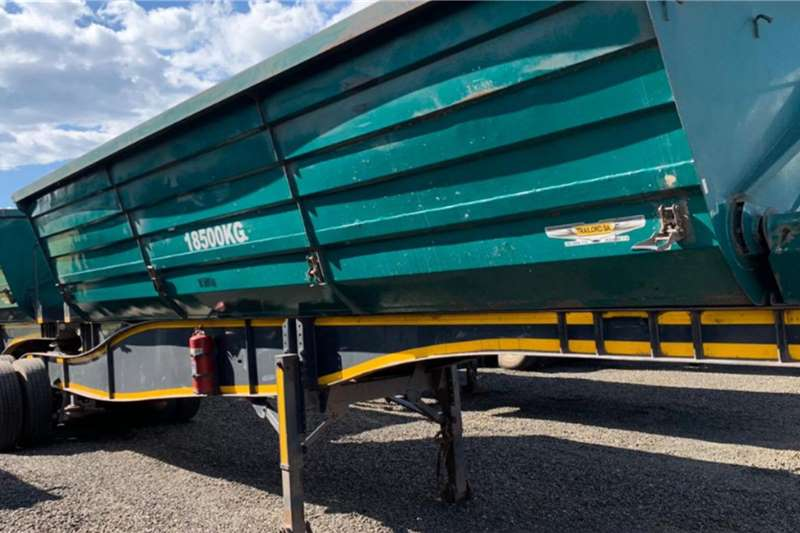 Trailord 2014 Trailord 45m3 Interlink Side Tipper Trailers